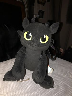 How To Train Your Dragon Toothless Plushie for Sale in Fontana, CA