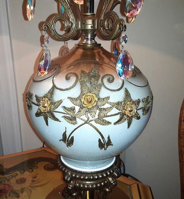 Antique Carl Falkenstein Hollywood Regency Lamps