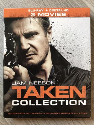 Taken 1, 2 and 3 Blu Ray for Sale in Bremerton, WA
