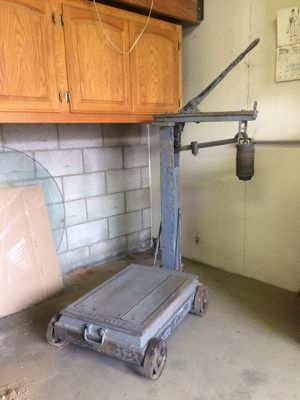 Fairbanks platform scale antique for Sale in Glendora, CA