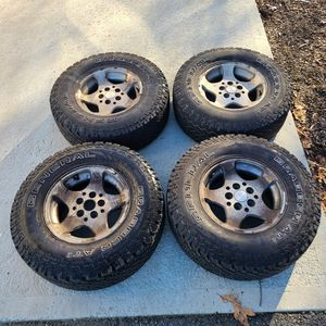 "30"" General Grabber AT2 Tires With 5 Lug Wheels 30X9.50 Tacoma Jeep Tires Rims for Sale in North Attleborough, MA"