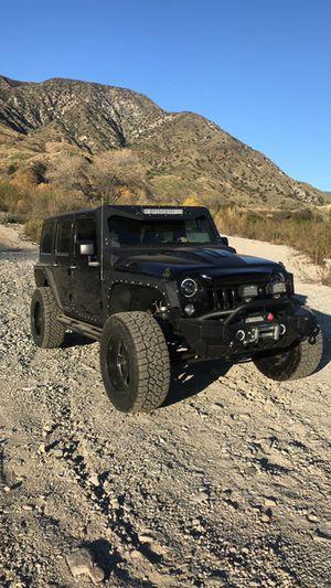 2016 Jeep rubicon for Sale in Glendora, CA