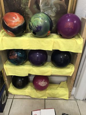 15lb bowling balls for sale for Sale in Hialeah, FL