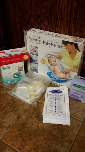 Baby Items, Bag, Bather, Breastpump for Sale in Tulare, CA