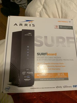 Arris modem WiFi router for Sale in Addison, IL