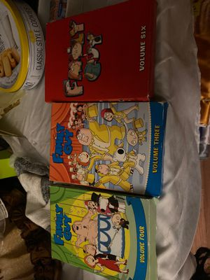 Family guy dvd volume 4,3,6 for Sale in Campbell, CA