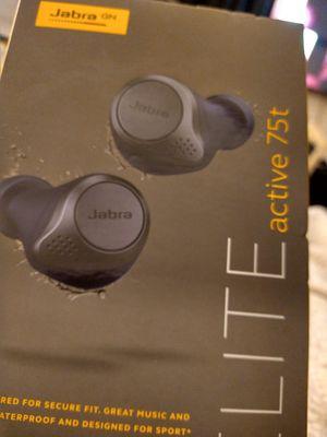 Jabra Elite Active 75t True Wireless In-Ear Headphones - Navy for Sale in Brockton, MA