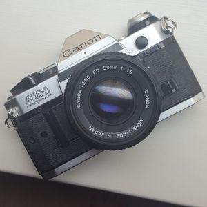 Cannon AE-1 film camera 50mm for Sale in Philadelphia, PA