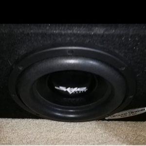 "SKAR 12"" 2,500 WATT Sub In A Ground Shaker Box Power Acoustic 4,500 Watts Amp for Sale in North Las Vegas, NV"