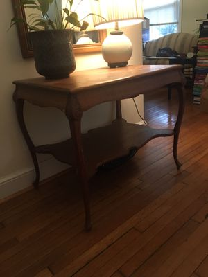 Antique foyer table for Sale in Silver Spring, MD