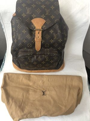 Vintage Louis Vuitton Backpack for Sale in Fresno, CA
