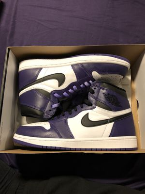 Air Jordan 1 Court Purples Size 10! VNDS! for Sale in Santa Ana, CA