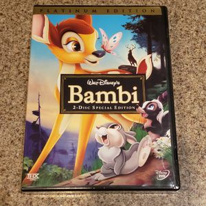 Disney DVD Bambi Special Edition for Sale in Sloan, NV