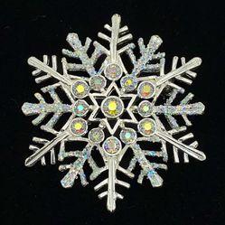 Avon Rhinestone Snowflake Pin for Sale in Houston,  TX