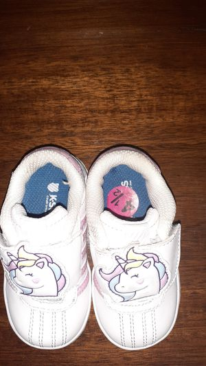 K.Swiss Unicorn Shoes, 4 1/2c, Baby Girl for Sale in San Jose, CA