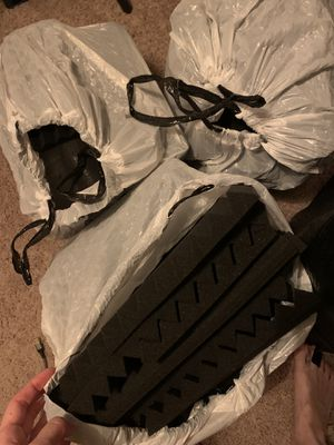 """3 bags of acoustic panels 1""""x12""""x12"""" (black) for Sale in Los Angeles, CA"""