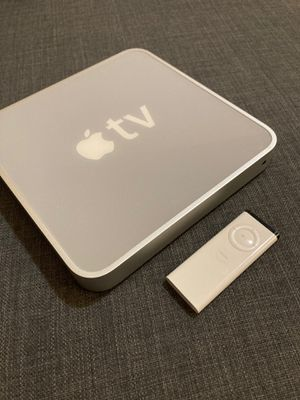 Apple TV 1 with remote and cables for Sale in Bellevue, WA