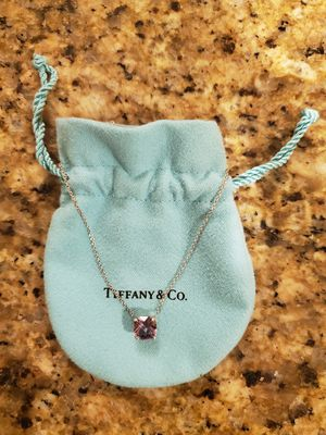 Tiffany Amethyst Sparklers Necklace w/Pouch for Sale in Redmond, WA