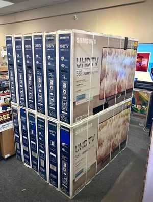 58 Samsung 4K UHD Smart TV for Sale in Wilmington, CA