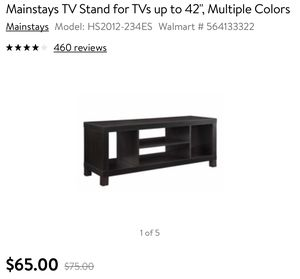 Walmart TV stand for Sale in The Bronx, NY