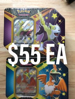 Pokemon Shining Fates Tin Cramorant Boltund for Sale in Shoreline,  WA