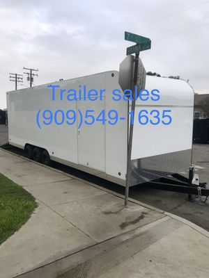 ** in stock ** new 8.5x28x8 enclosed trailer for Sale in Rancho Cucamonga, CA