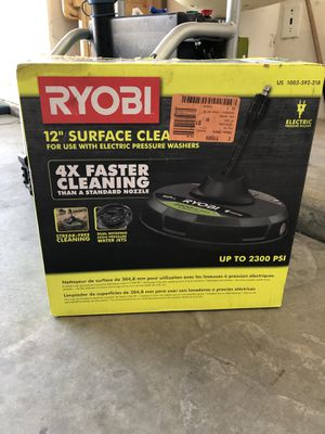 Ryobi pressure washer surface cleaner attachment for Sale in Bakersfield, CA