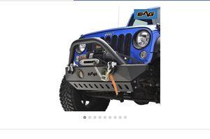 Jeep Wrangler Jk Jku Front Bumper for Sale in Riverside, CA