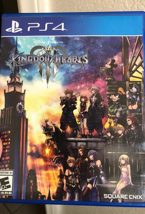 Kingdom heart 3 for Sale in Victorville, CA