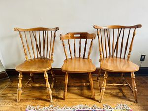Wooden chairs for Sale in Washington, DC