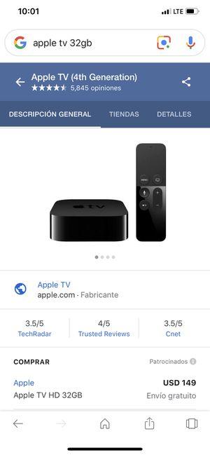 Apple TV 32 gb for Sale in Miami, FL