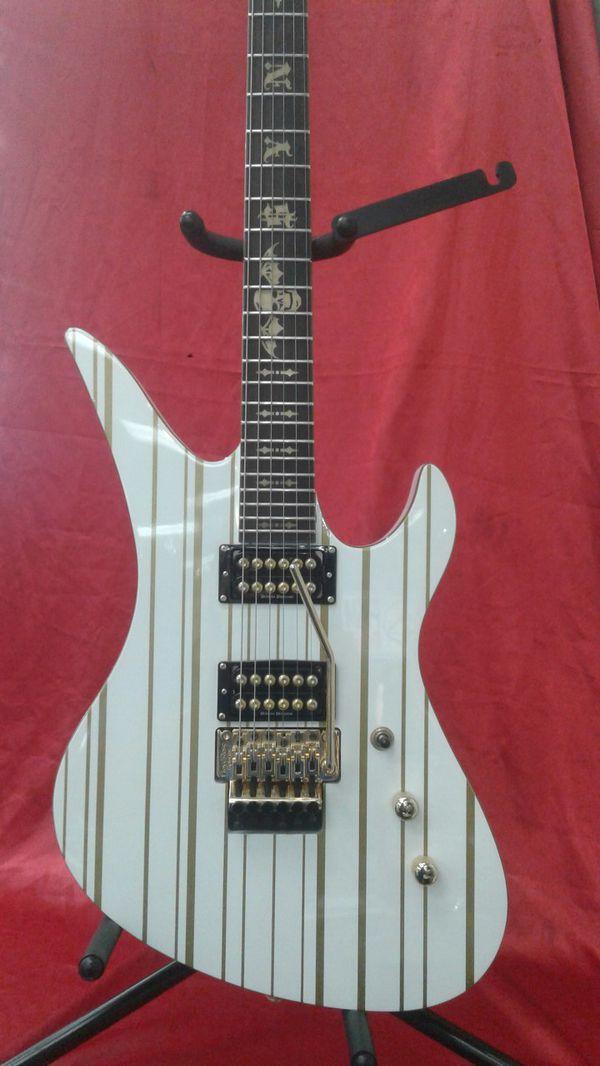 Great Looking Schecter Diamond Electric Guitar