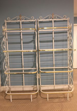 Baker's Rack shelving units for Sale in UPR MAKEFIELD, PA