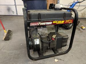 Coleman power mate 3000 watt generator, runs and starts perfect, freshly cleaned carb and new pull cable. Don't need, asked 200 or best offer. for Sale in Stow, MA