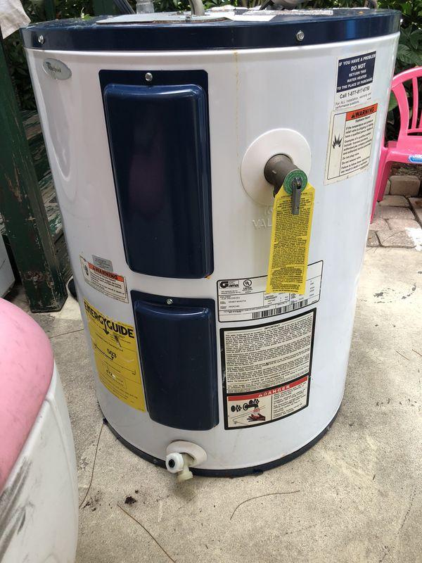 Water heater 40 gallones