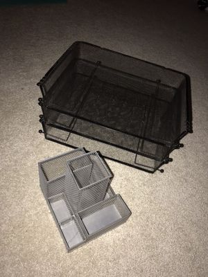 Paper and pen organizer for Sale in Gaithersburg, MD