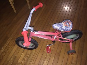 12 inch Paw Patrol Bike with Matching Helmet for Sale in Glen Carbon, IL