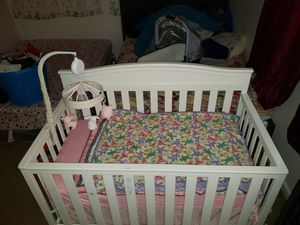 baby crib very good condition normal use for Sale in Norfolk, VA