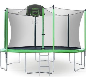 12ft trampoline with basketball hoop for Sale in La Puente, CA
