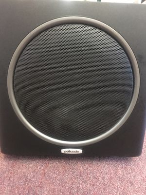 POLK AUDIO SUBWOOFER PSW110 BLACK bcp004829 for Sale in Huntington Beach, CA