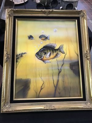 """Blue Gill painting - Juan Parker 18/21"""" for Sale in Columbus, OH"""