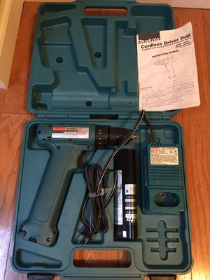 Cordless drill driver battery charger carry case for Sale in San Jose, CA