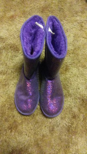 Sparkly ugg type boot for Sale in Warren Air Force Base, WY
