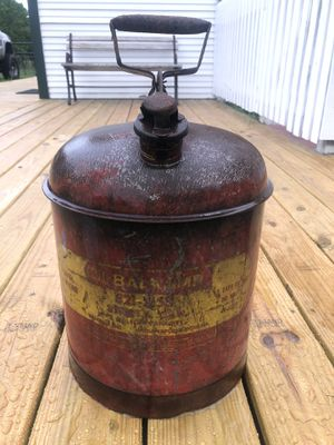 Vintage Eagle Gas Service Station 5 Gallons Tin for Sale in Tampa, FL