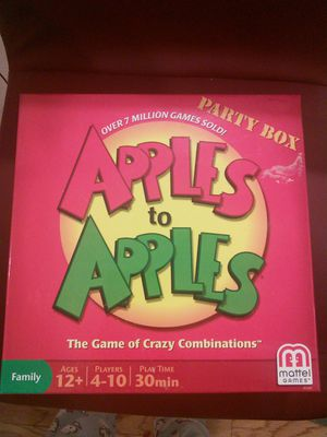 Different Card Games ( Apples to apples, sequences & puzzles) for Sale in Los Angeles, CA
