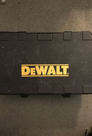 DeWalt power tool case for Sale in District Heights, MD