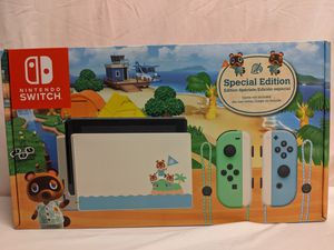 BRAND NEW IN BOX NINTENDO SWITCH ANIMAL CROSSING SPECIAL EDITION! for Sale in Plantation, FL