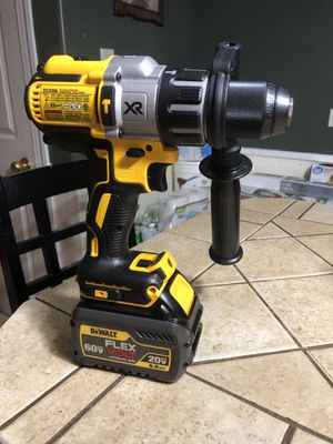 Brand New DeWalt 3 speed XR Hammer Drill Brushless and battery 6.0 for Sale in Riverdale, IL