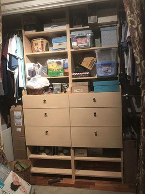 Closet organizer for Sale in Cohasset, CA