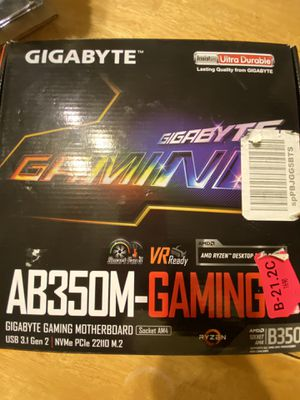 Gigabyte AB350-Gaming 3 Motherboard for Sale in Peoria, AZ
